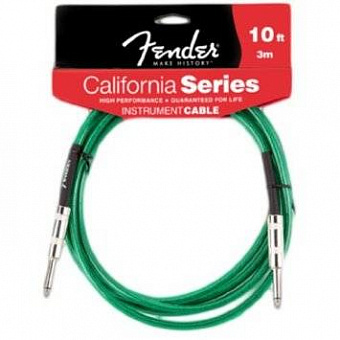 FENDER 10' CALIFORNIA CABLE GREEN SURF инстр